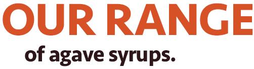 Raisa's Agave Syrups